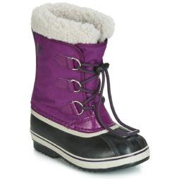 Scarpe da neve bambini ragazzo Sorel  YOOT PAC NYLON  Viola Sorel 192660513430