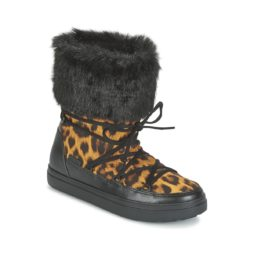 Scarpe da neve donna Crocs  LODGEPOINT LACE BOOT W  Marrone Crocs 887350795905