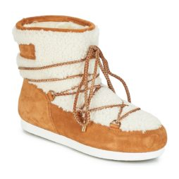 Scarpe da neve donna Moon Boot  FAR SIDE LOW SHEARLING  Marrone Moon Boot 8050459598247