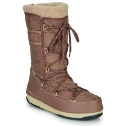 Scarpe da neve donna Moon Boot  MOON BOOT MONACO WOOL WP  Marrone Moon Boot 8050459704846