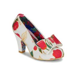 Scarpe donna Irregular Choice  SUMMER FRECKLES  Bianco Irregular Choice 5052224623829