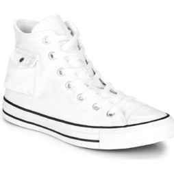 Sneakers alte donna Converse  CHUCK TAYLOR ALL STAR POCKET VARSITY REMIX  Bianco Converse 888757763849
