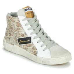 Sneakers alte donna Meline  NK5050  Beige Meline