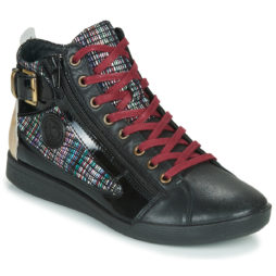 Sneakers alte donna Pataugas  PALME/I F4E  Nero Pataugas 3665042266677