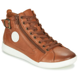 Sneakers alte donna Pataugas  PALME/N F4D  Marrone Pataugas 3665042269951