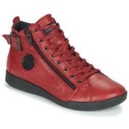 Sneakers alte donna Pataugas  PALME/N F4D  Rosso Pataugas 3610273505552