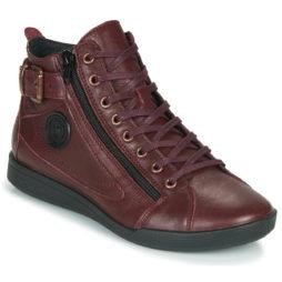 Sneakers alte donna Pataugas  PALME/N F4D  Rosso Pataugas 3665042269883