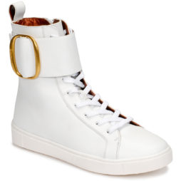 Sneakers alte donna See by Chloé  BENARES  Bianco See by Chloé 4000017213321