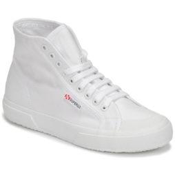 Sneakers alte donna Superga  2295 COTW  Bianco Superga 8032751522281