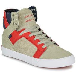Sneakers alte donna Supra  SKYTOP  Beige Supra 888612567896
