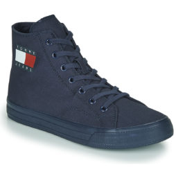 Sneakers alte donna Tommy Jeans  WMNS MID CUT LACE UP VULC  Blu Tommy Jeans 8719862936359