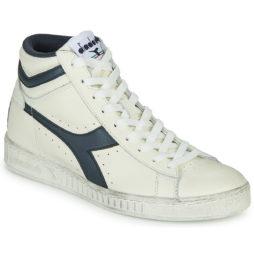 Sneakers alte uomo Diadora  GAME L HIGH WAXED  Bianco Diadora 8300300878807