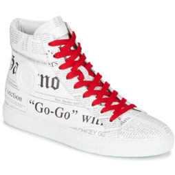 Sneakers alte uomo John Galliano  2245A  Bianco John Galliano 1904400375678