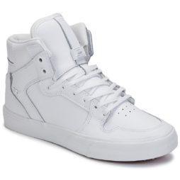 Sneakers alte uomo Supra  VAIDER CLASSIC  Bianco Supra 888612157059