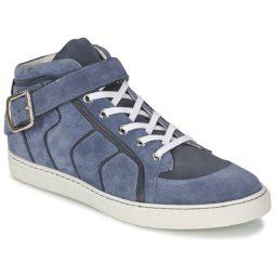 Sneakers alte uomo Vivienne Westwood  HIGH TRAINER  Blu Vivienne Westwood 8052642775091
