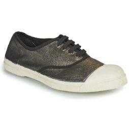 Sneakers basse donna Bensimon  TENNIS LACET LUREX  Grigio Bensimon 3608545585562