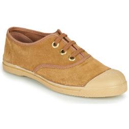 Sneakers basse donna Bensimon  TENNIS LACET SUEDE  Marrone Bensimon 3608545547768