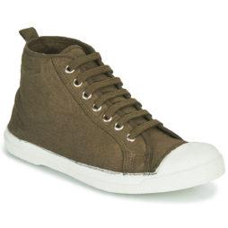 Sneakers basse donna Bensimon  TENNIS STELLA  Kaki Bensimon 3608545540462