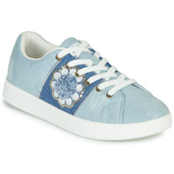 Sneakers basse donna Desigual  COSMIC EXOTIC FLOWER  Blu Desigual 8434486965898