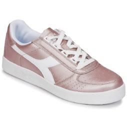 Sneakers basse donna Diadora  B ELITE I METALLIC WN  Rosa Diadora 8030631331435