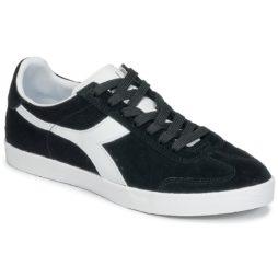 Sneakers basse donna Diadora  B ORIGINAL VLZ SUEDE  Nero Diadora 8030631061677