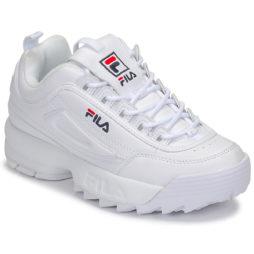 Sneakers basse donna Fila  DISRUPTOR LOW WMN  Bianco Fila 8719477073340