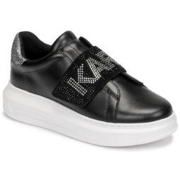 Sneakers basse donna Karl Lagerfeld  KAPRI GLITZ LOGO LO  Nero Karl Lagerfeld 5056272393949