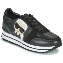 Sneakers basse donna Karl Lagerfeld  VELOCITA II KARL IKONIC METEOR  Nero Karl Lagerfeld 5051714972799