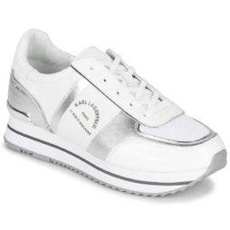 Sneakers basse donna Karl Lagerfeld  VELOCITA II MAISON KARL LO LACE  Bianco Karl Lagerfeld 5056272393383