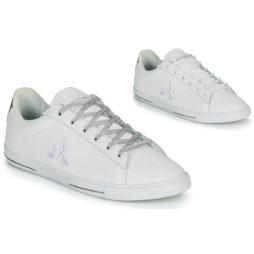 Sneakers basse donna Le Coq Sportif  AGATE METALLIC  Bianco Le Coq Sportif 3606803995894