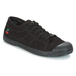 Sneakers basse donna Le Temps des Cerises  BASIC 02 MONO  Nero Le Temps des Cerises 3615740009021