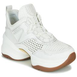 Sneakers basse donna MICHAEL Michael Kors  OLYMPIA  Bianco MICHAEL Michael Kors 193572767256