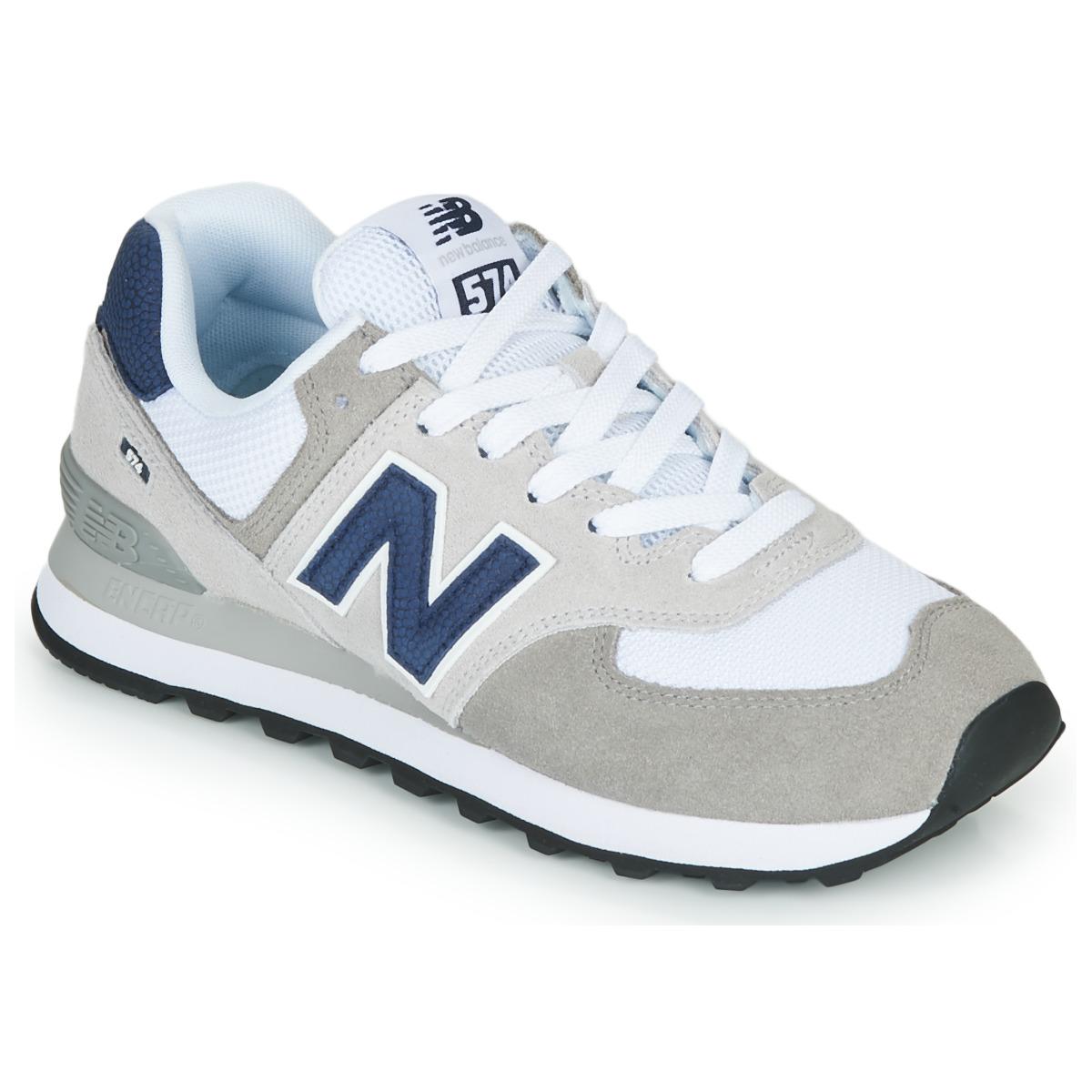Sneakers basse donna New Balance 574 Grigio