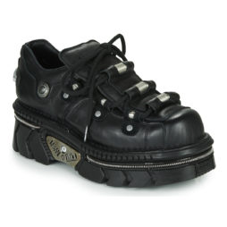 Sneakers basse donna New Rock  M-233-C5  Nero New Rock 8434545880964