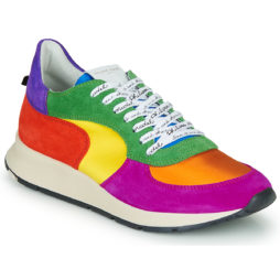 Sneakers basse donna Philippe Model  MONTECARLO  Multicolore Philippe Model 8059220325303