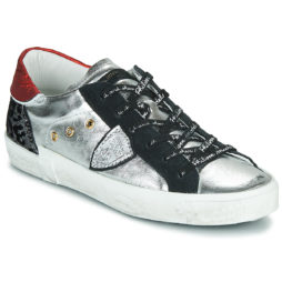 Sneakers basse donna Philippe Model  PARIS X  Argento Philippe Model 8059220464989