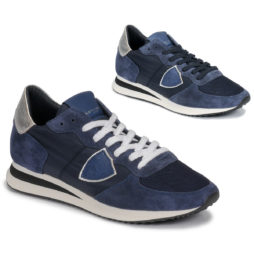 Sneakers basse donna Philippe Model  TROPEZ  Blu Philippe Model 8059220438317