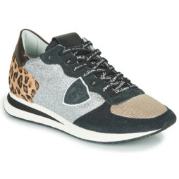Sneakers basse donna Philippe Model  TROPEZ X LEO GLITTER  Multicolore Philippe Model 8059220434272