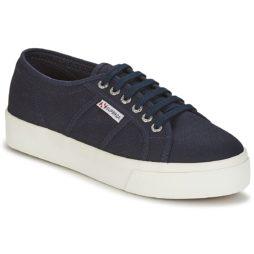 Sneakers basse donna Superga  2730 COTU  Blu Superga 8054700485607