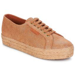 Sneakers basse donna Superga  2730 LAME DEGRADE W  Marrone Superga 8054700052038