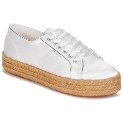 Sneakers basse donna Superga  2730 SATIN COTMETROPE W  Bianco Superga 8054700010809