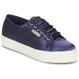 Sneakers basse donna Superga  2730 SATIN W  Blu Superga 8054700023465