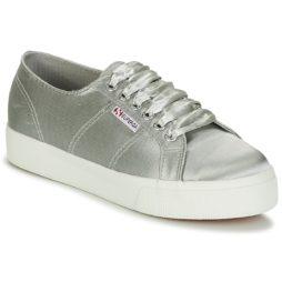 Sneakers basse donna Superga  2730 SATIN W  Grigio Superga 8054700022598