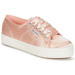 Sneakers basse donna Superga  2730 SATIN W  Rosa Superga 8054700023342
