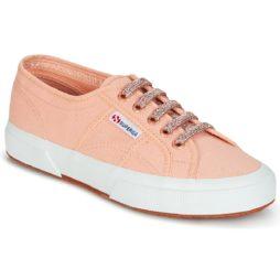 Sneakers basse donna Superga  2750 CLASSIC SUPER GIRL EXCLUSIVE  Rosa Superga 8054700966090