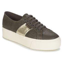 Sneakers basse donna Superga  2790 PU SNAKE W  Marrone Superga 8054954497418