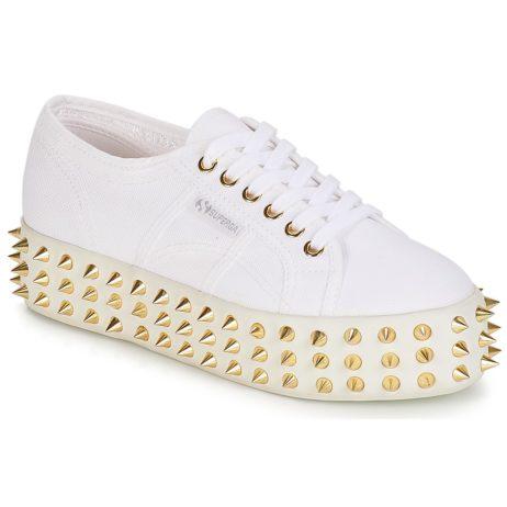 Sneakers basse donna Superga  2790 STUDS COT W GERALDINA  Bianco Superga 8054700561882