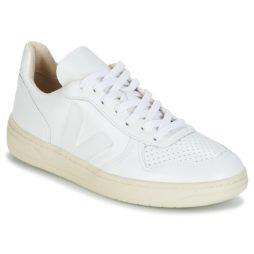 Sneakers basse donna Veja  V-10  Bianco Veja 3611820041967
