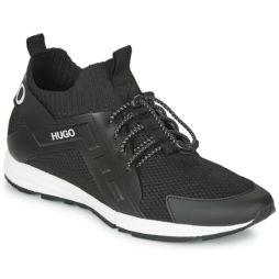 Sneakers uomo HUGO  HYBRID RUNN KNCG  Nero HUGO 4037557003044