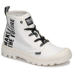 Stivaletti donna Palladium  PAMPA HI FUTURE  Bianco Palladium 3610942861484